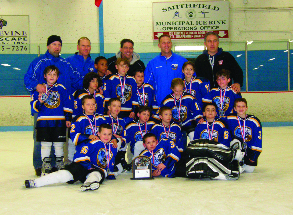 WJHA Mite A Gold - State Runner-up
