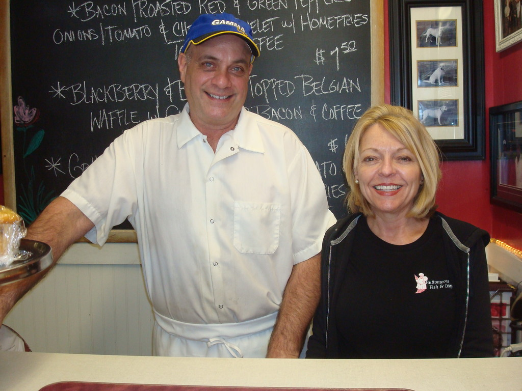 Meet Tony and Jackie Fiore, owners of this popular homestyle restaurant, Buttonwoods Fish & Chips.