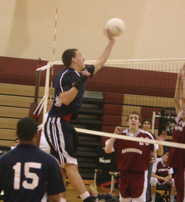 GO-TO GUY: Nick Carr is back for his fourth season on the Toll Gate volleyball team, and he will likely be the Titans' top offensive option.