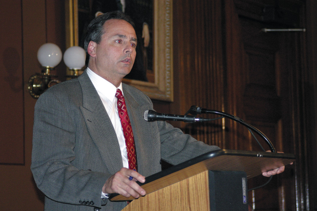 "TIRED OF ""UNETHICAL"" TAXES: ""I see no reason to insert another bill, which just muddies the water across the state in the House and Senate when we have a mirror bill that's been widely accepted across party lines,"" Cote said at a hearing before the House Municipal Government Committee at the State House Thursday evening. ""Instead of bringing in an additional bill, Azzinaro should have signed on board McNamara's bill."""