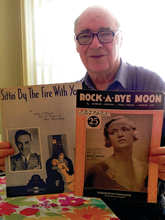 SHEETS OF NOSTALGIA: Warwick musician Lloyd Kaplan is a big fan of old American pop songs and the business of vaudeville, where many of the songs became popular for the first time. He'll be talking about vaudeville at the Warwick Library on April 17 at 7 p.m.