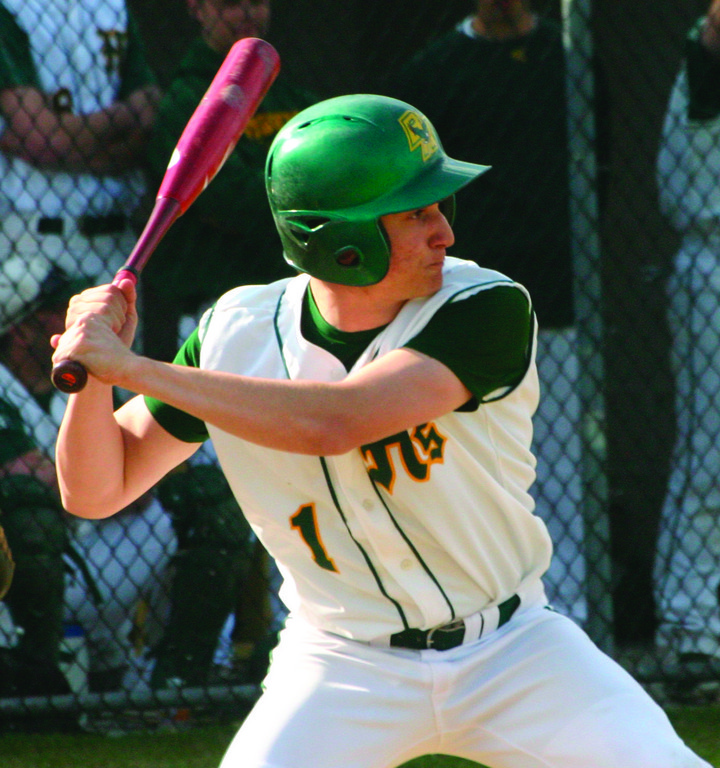STEPPING UP: Gary Geisser had two RBI to lead the offense for Hendricken in Tuesday's game against Barrington.