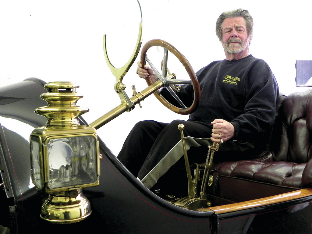 Dick Shappy and his 1912 Speedwell Model H.