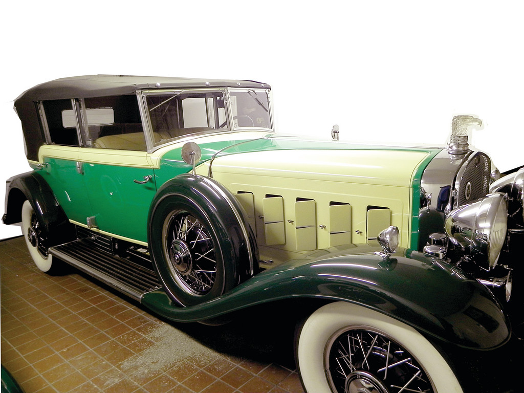 IT'S A DUSEY: Few automobiles have entered the American imagination the way that the Duesenberg has. Dick Shappy found this 1934 Durham Convertible Sedan in a Cambridge carriage house that was its home for over 50 years. It is not for sale.