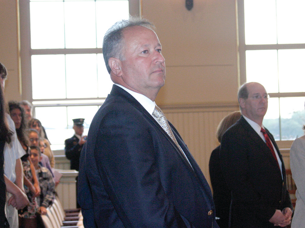 RETIRED: Former Chief Kevin M. Sullivan attended the event.