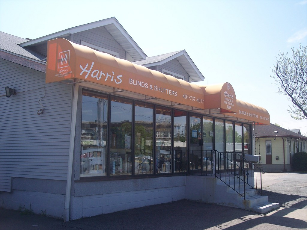 Harris Blinds & Shutters is sporting a new look!  Isn't it time for you to make a change?