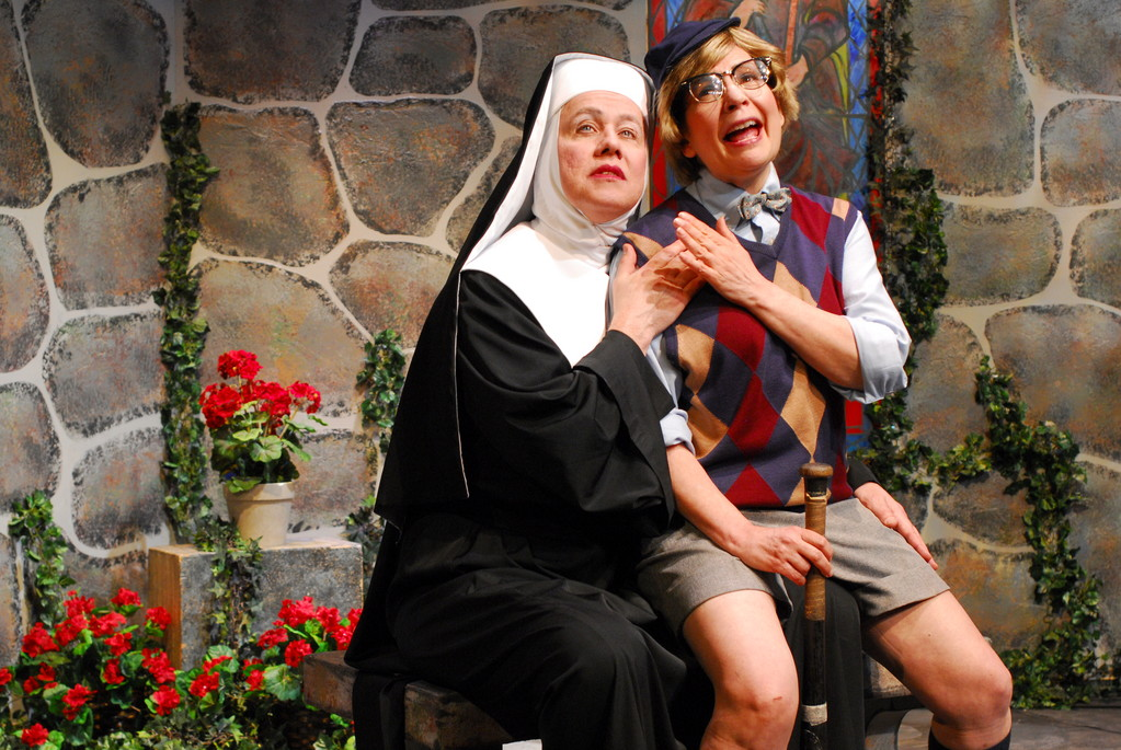 John Michael Richardson as Mother Superior and Margaret Melozzi as Timmy.