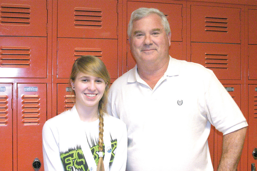GOLD MEDALIST: Toll Gate senior Nicole Horan, 17, earned a gold medal in the competition for the third consecutive year. But, that�s not all she has to brag about, as she has also been the only girl in her electricity class the last three years and obtains the highest grade of all her male classmates. Her teacher, Stephen Brady, said he couldn�t be more proud.