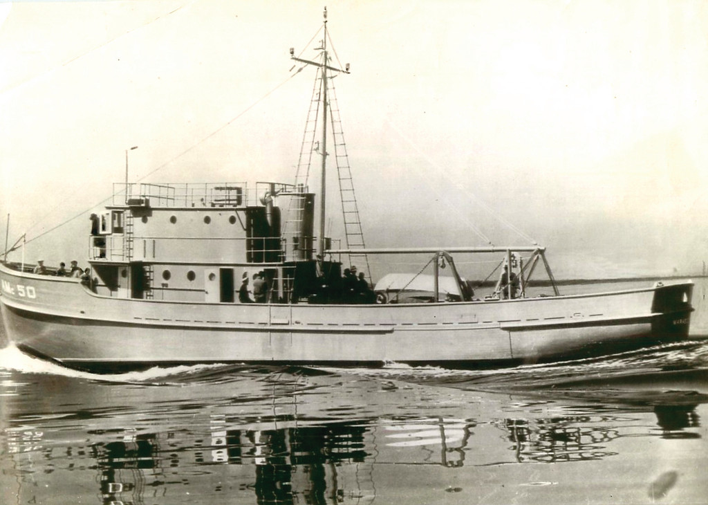 Herreshoff produced a minesweeper for the Navy in World War II, when the mining of American harbors was a justifiable fear.