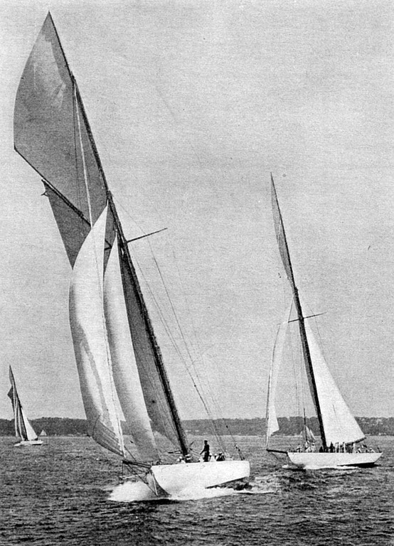THE DEFENDER: The Defender was the second Herreshoff design to beat the hapless Earl of Dunraven in 1895. Herreshoff also designed a number of smaller sailboats that are highly valued by sailors even today.