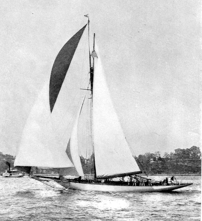 THE VIGILANT: The Vigilant was designed by Herreshoff in 1893 and successfully beat the Earl of Dunraven's Valkyrie III and the Americans beat the Earl again in 1985, which prompted the Earl to accuse the Americans of cheating.