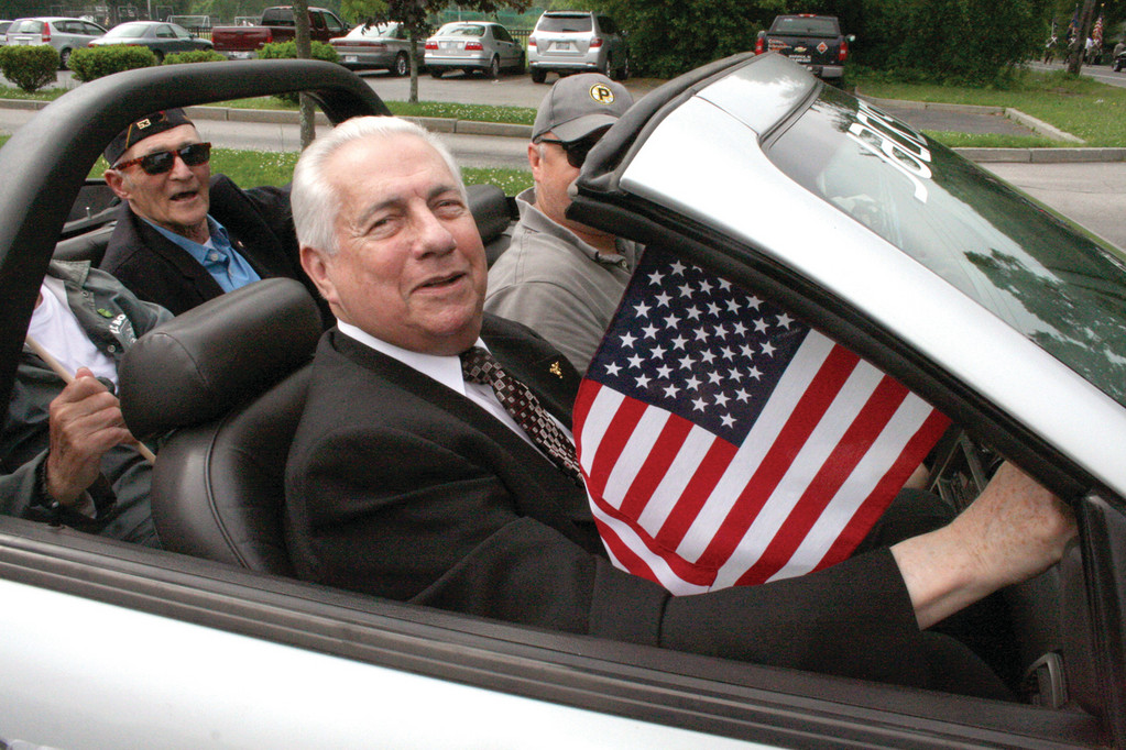 Memorial Day Parade Grand Marshal Joseph Gallucci.