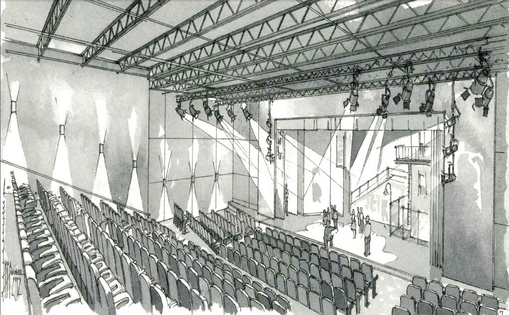 COMING TO WARWICK: A new, 420-seat theater set to open in December.