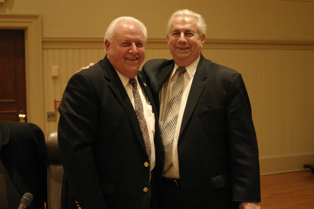 Brothers Ray and Joe Gallucci