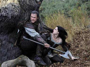 Chris Hemsworth and Kristen Stewart star in �Snow White & The Huntsman.�