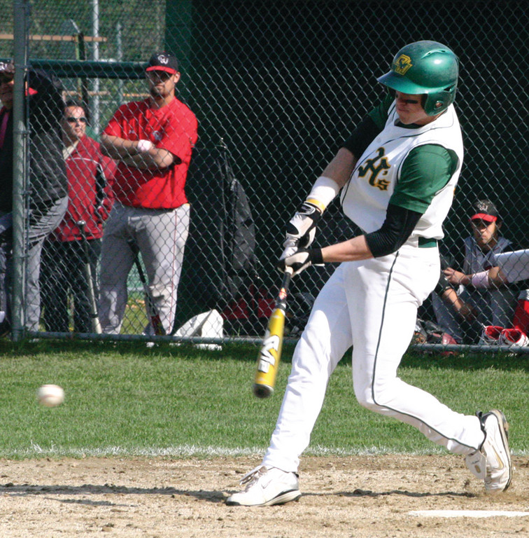 NEXT LEVEL: Evan Marzilli, pictured in 2009 while playing for Hendricken, was selected in the eighth round of the Major League Baseball Draft on Tuesday by the Arizona Diamondbacks. Marzilli currently plays at the University of South Carolina.