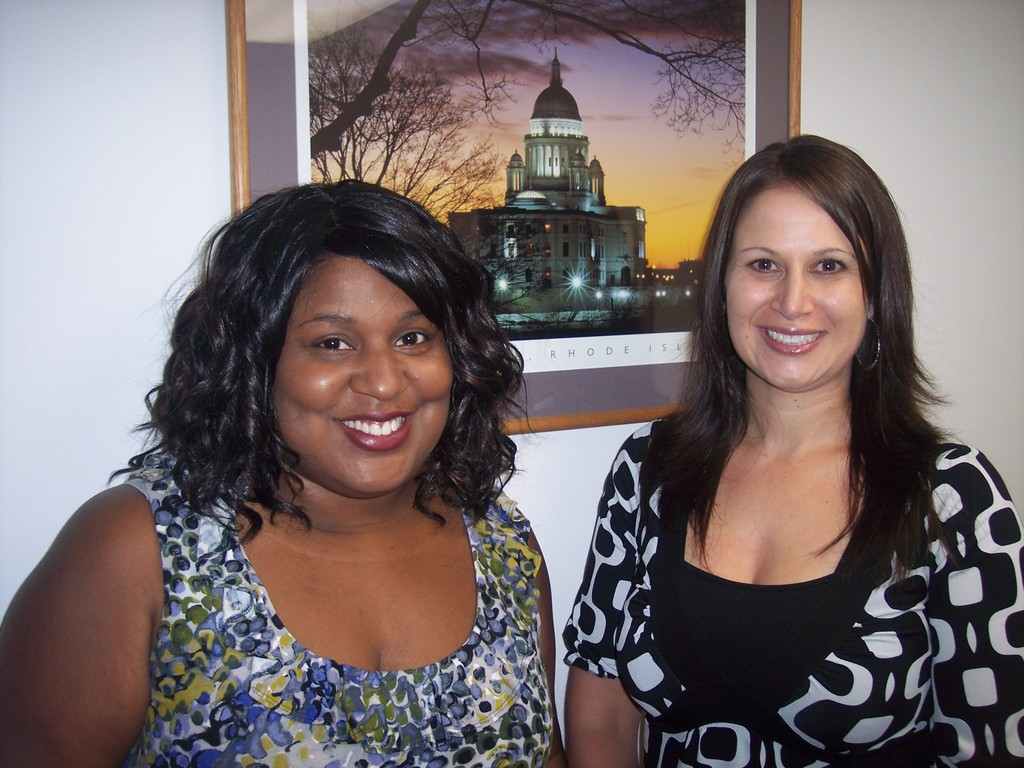 Recruiter Milly Charles and Regional Manager Danielle Imbornone-Gallagher warmly welcome all prospective foster families.