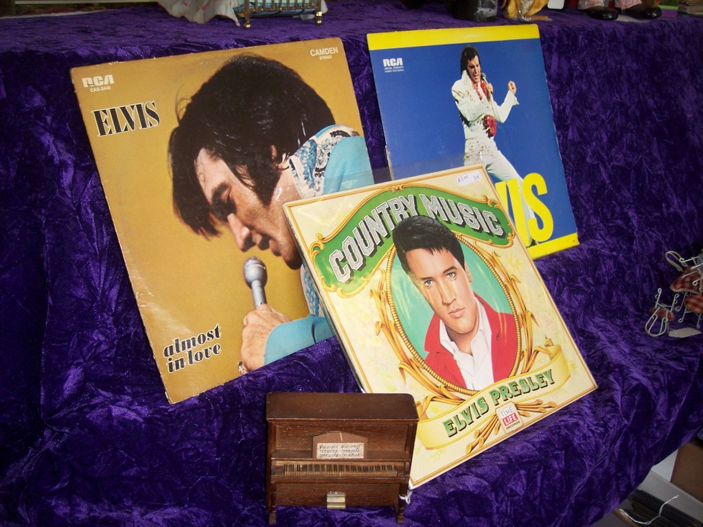 If you still swoon when you hear this legendary singer, check out the collection of Elvis LPs at Antiques, Toy Collectibles & More.