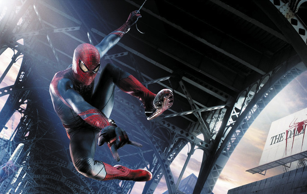 "Spider-Man is back in ""The Amazing Spider-Man."""