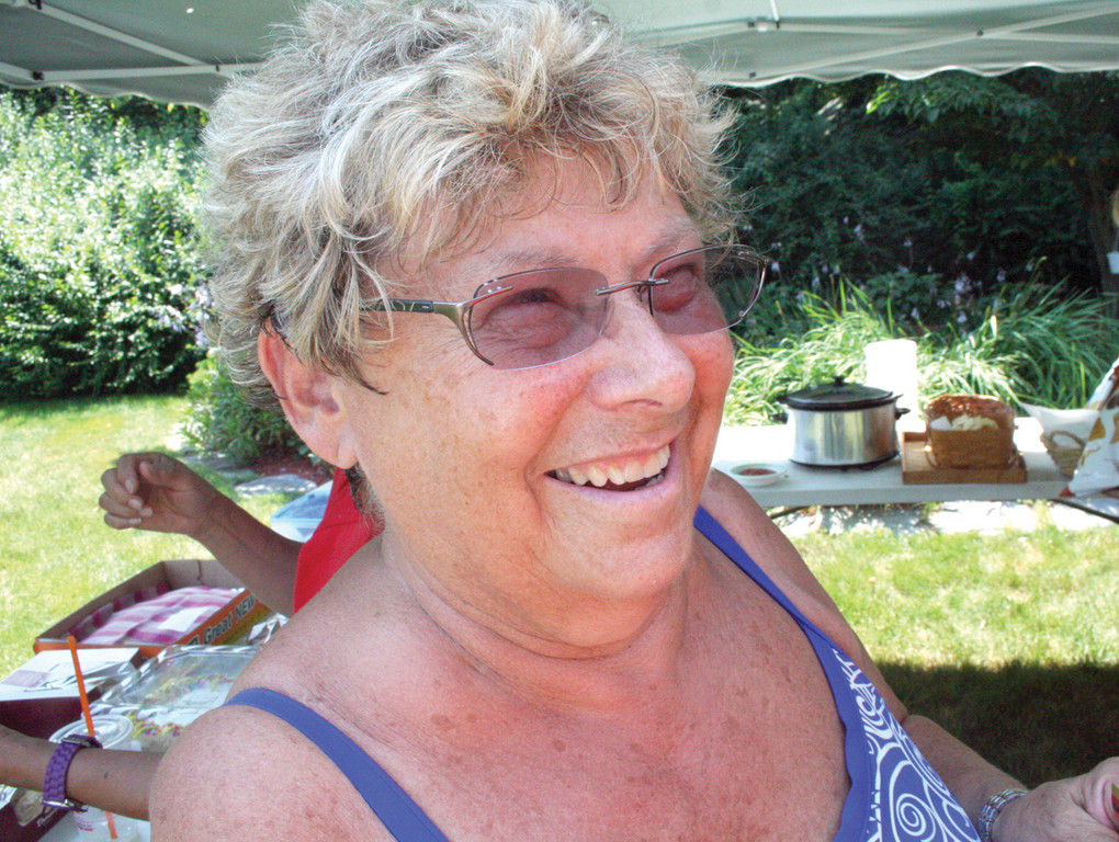 PARTY HOSTESS: Marianne Collinson has hosted the party at her Warwick Neck home for 15 years.
