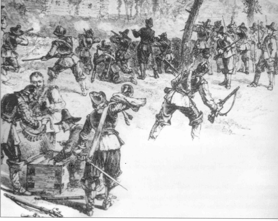 The attack by Massachusetts soldiers on the Gortonists in Shawomet in 1643 has been called one of the greatest crimes of the colonial period.