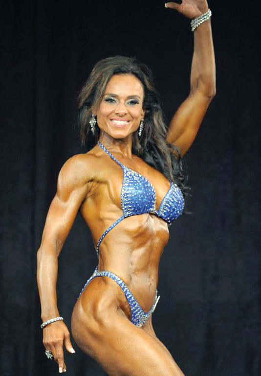 "HOT MAMA: Katerina Tarbox, 46, earned a first place victory as a Pro Figure Champion at this year's Masters Nationals, the industry's premier amateur body building competition, held July 19 in Pittsburgh. The married mother of two said of her win, ""It was such a great feeling."""