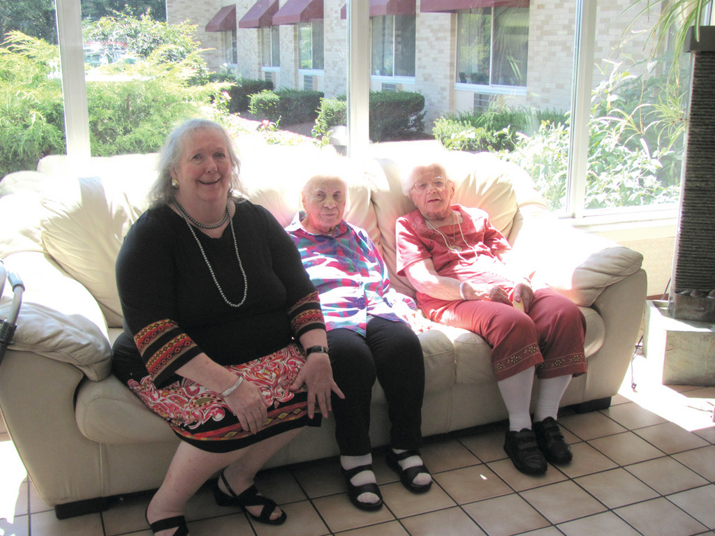 The Briarcliff Manor�s third annual Ladies Day Out, which was sponsored by Cox Communications, was a thrill for residents Brenda Tillinghast and Emma London.