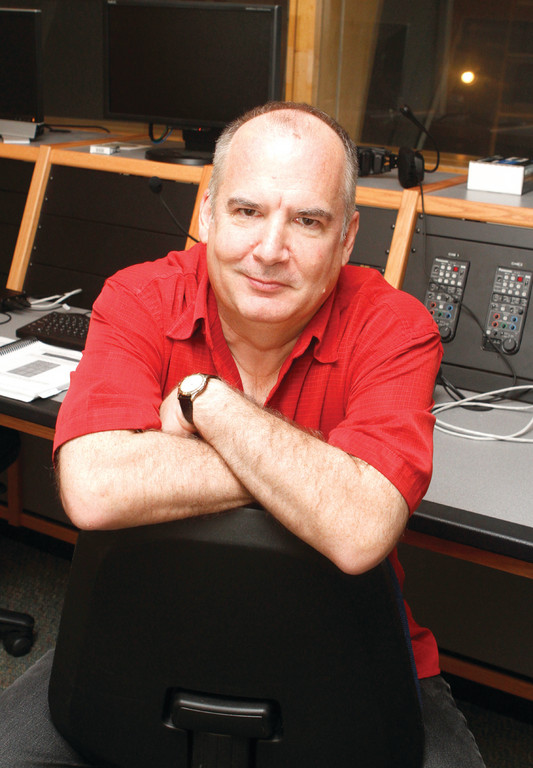 AN AVID TEACHER: Michael Phillips, an Academy Award-winner, will teach a course on Avid video editing software this fall at CCRI. Phillips helped to invent the software that revolutionized how major motion pictures are edited today.