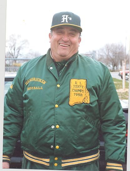 COACH: Former local baseball coach Val Innocente will be honored on Saturday at Roger Williams Park.