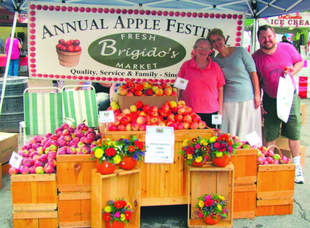 Brigido's Market is a regular sponsor of the Festival, and donates all of the homemade sausage used in the sausage and pepper sandwiches. Festival chairman Lou Mansolillo says the sandwiches are the best-selling item year after year.