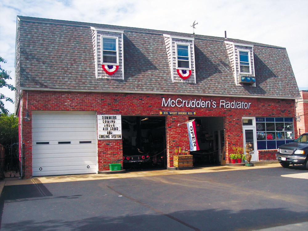 Don't pass this familiar sight, in business for over 50 years, and counting - McCrudden's  Radiator Repair.