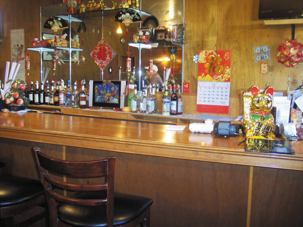 For a quiet place to linger over a refreshing tropical drink, come pull a bar stool up to China Sea's full-stocked bar.