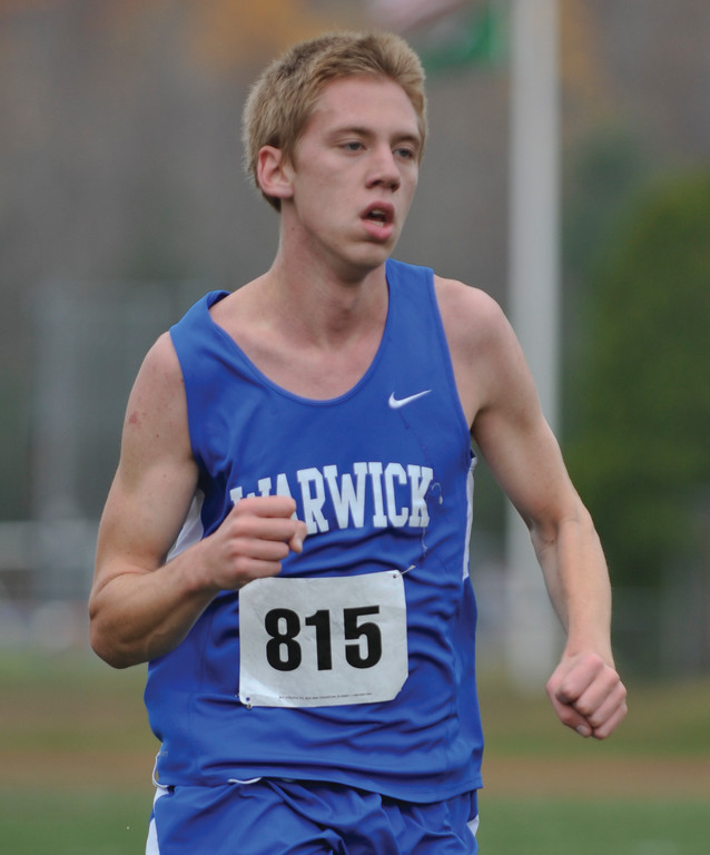 BIG FINISH: Vets' Ian Anderson had a huge performance at the Class B Meet, finishing third.