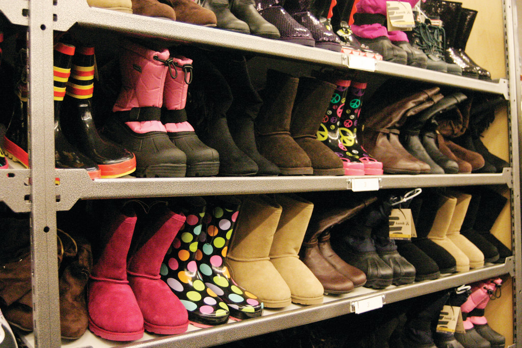 "BOOTS, SHOES AND SLIPPERS: According to Nordstrom spokesperson Colin Johnson, the store will carry ""tens of thousands of shoes"" for men, women and children."