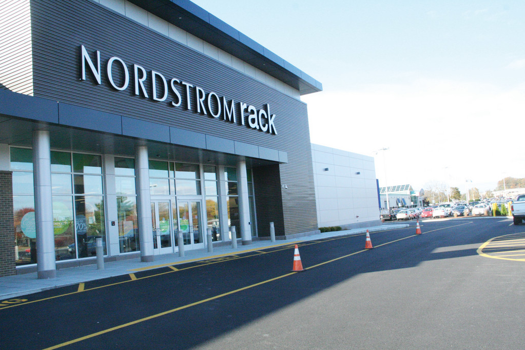FIRST IN RHODE ISLAND: Set to open Thursday morning in the Warwick Mall, Nordstrom Rack offers a selection of on-trend, of-season apparel for men, women and children from designer brands available in Nordstrom stores and Nordstrom.com with most at savings of 30 to 70 percent off.