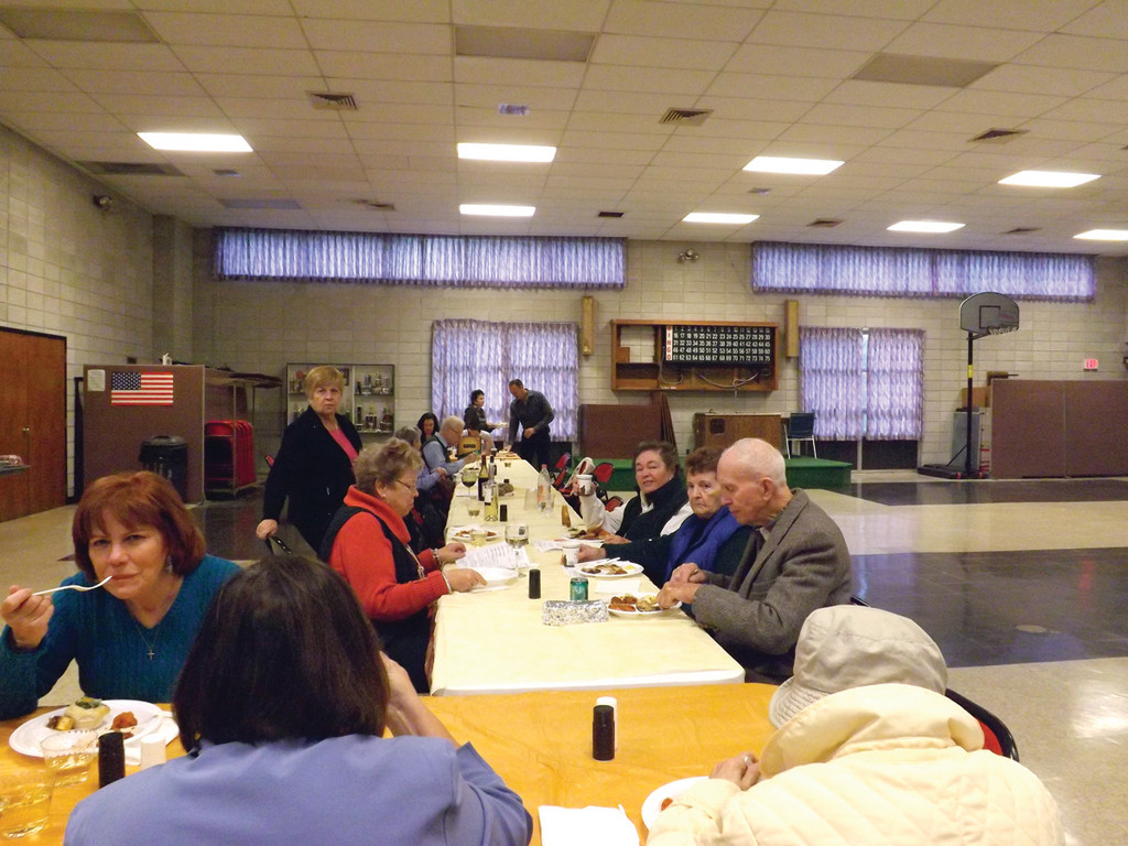 TASTY FOOD AND GOOD COMPANY: The parishioners of St. William Church enjoy their 10th annual Autumn Appetizers.