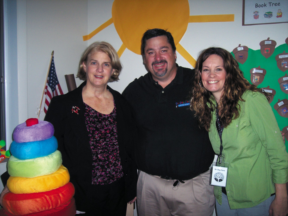 Come tour this learning center and meet the team at Dr. Day Care ~ Dr. Mary Ann Shallcross-Smith, Peter Sangermano and Kate Banks.