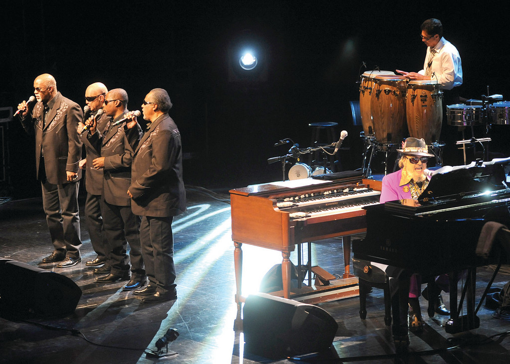 The Blind Boys of Alabama will join Dr. John for a performance at the Park Theatre in Cranston.