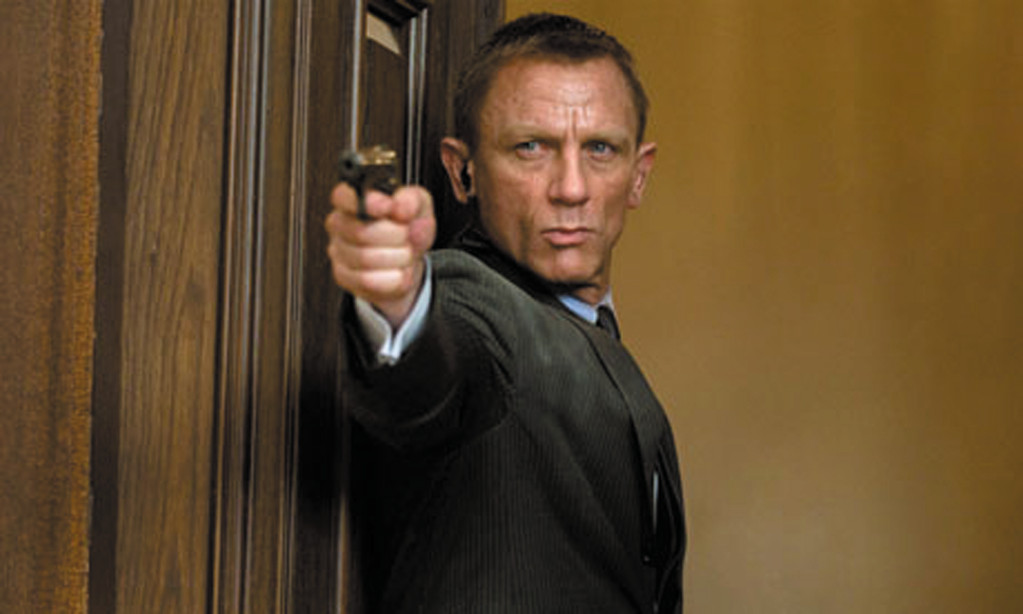 "Daniel Craig returns as Agent 007 James Bond in ""Skyfall."""