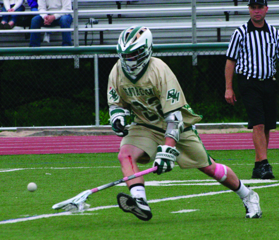 ON THE GO: Alex Perreault helped lead Hendricken to a state championship two years ago and a berth in the Division I semifinals last season.