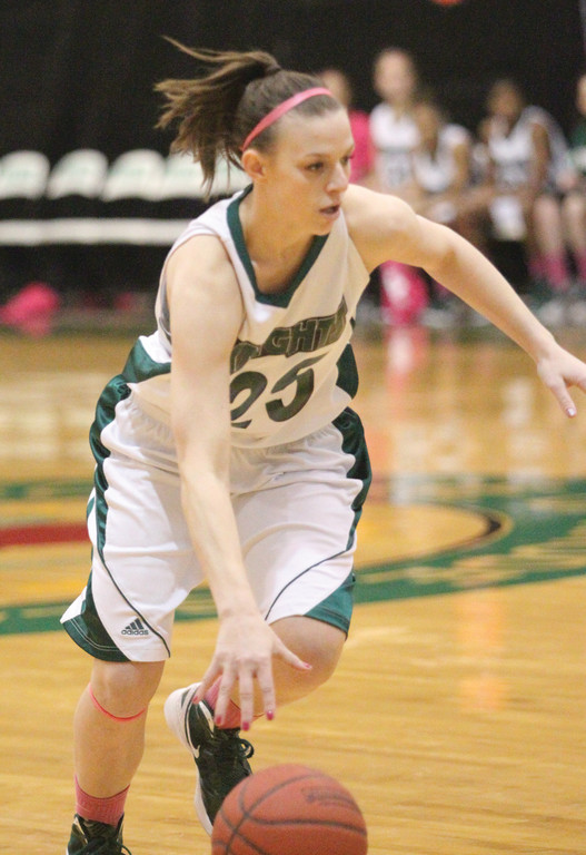 ON THE GO: Warwick's Jessica Randall is part of a veteran nucleus leading the CCRI women's basketball team this season.