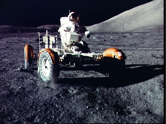 MOON BUGGY: A ride on the moon 40 years ago.