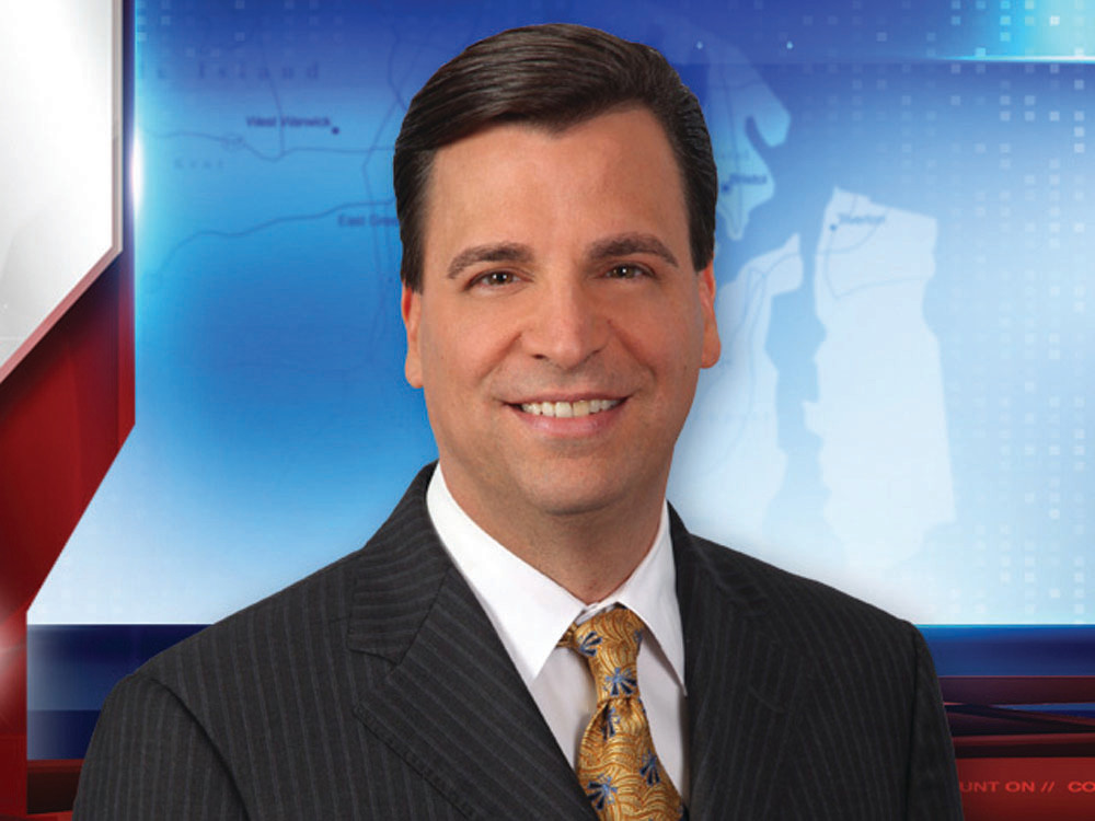 SILVER CIRCLE: Tony Petrarca, meteorologist for WPRI Channel 12 and Fox Providence, was recently inducted into the New England Chapter of the National Television Academy's Silver Circle. Petrarca was born and raised in Warwick and is a graduate of Toll Gate High School.