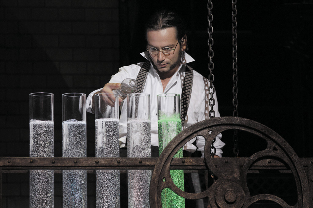 "Constantine Maroulis as Dr. Jekyll in ""Jekyll & Hyde"" at PPAC."