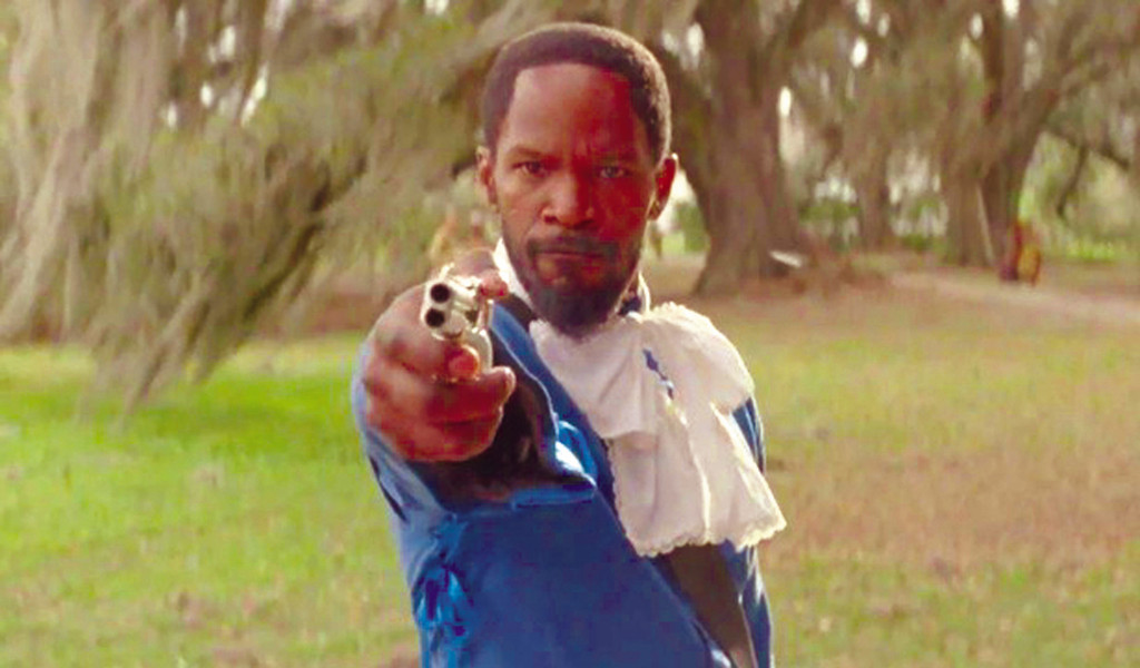 "Jamie Foxx is the title character in ""Django Unchained."""