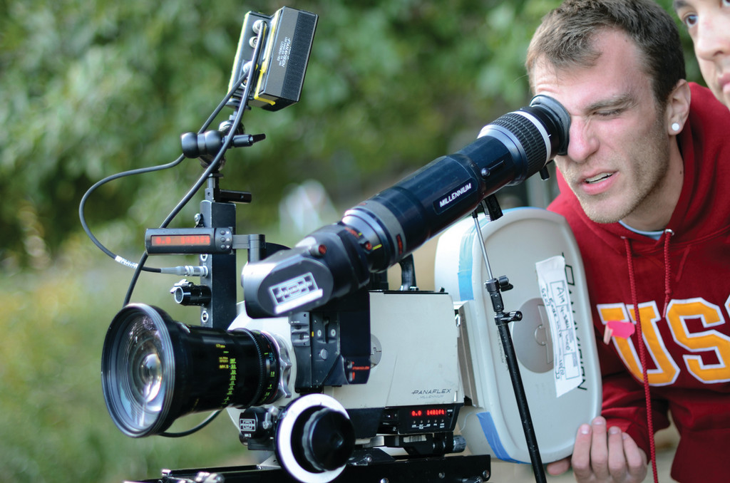 "MAKING MOVIES: Rob Himebaugh, 27, grew up in Warwick but now lives in California and works as a director, writer, composer and actor. His most recent film, ""Eaglewalk,"" won Best Student Short at Screamfest 2012, a horror movie festival."
