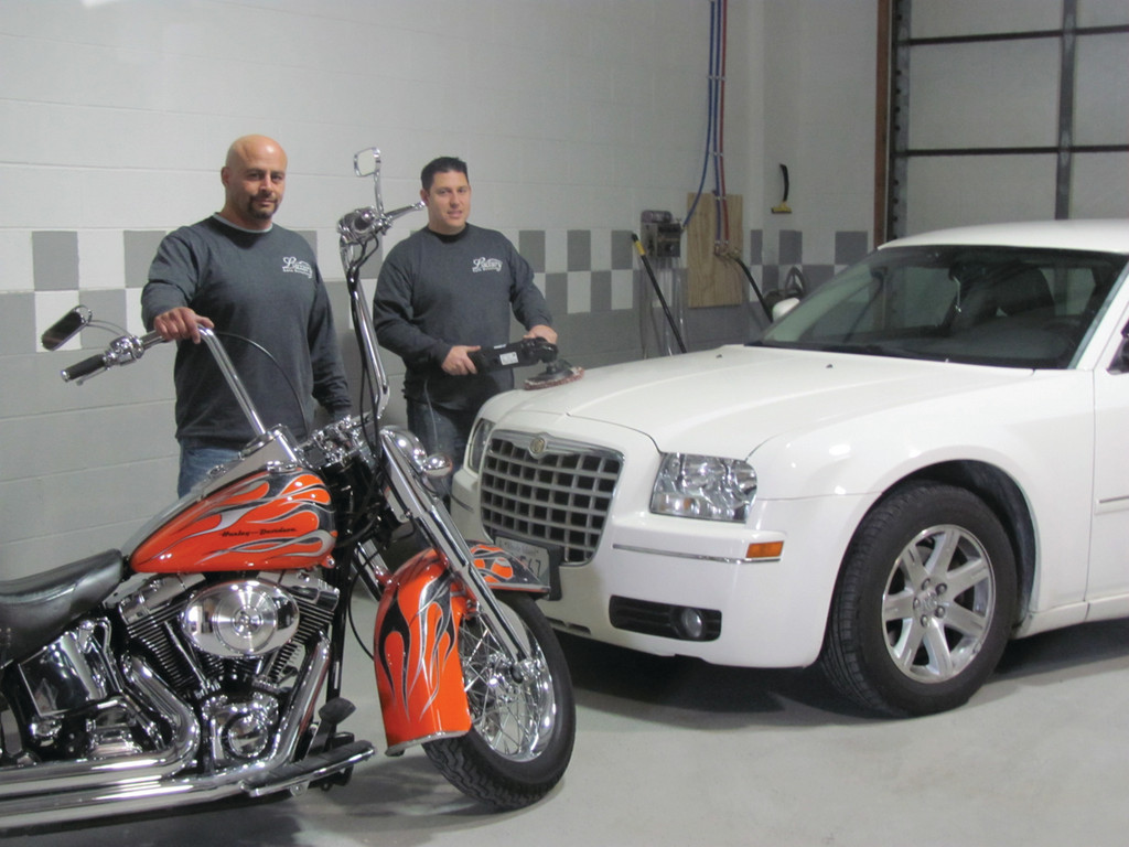 Johnston residents Paul McAteer and Anthony Ferranti Jr. recently opened Luxury Auto Detailing at 2 Starline Way in Cranston.