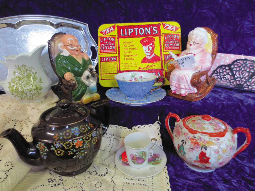 "Got tea?  Come rediscover your inner ""English lady of the House"" at Antiques, Toy Collectibles & More in Warwick."