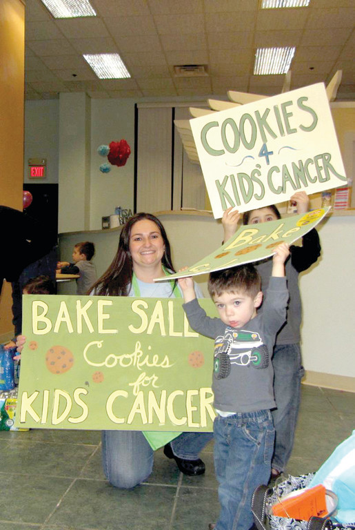 A GREAT SUCCESS: Last year's Cookies for Kids' Cancer Bake Sale was such a success, Macaroni Kids Cranston/Kent editor Heather Wirtz can't wait to do it again this weekend.