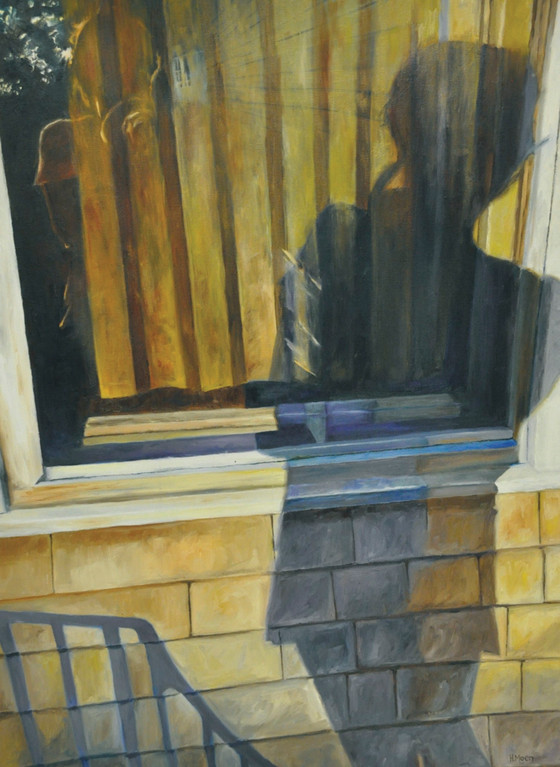 SHADOWS AND REFLECTIONS: This work by Haley Moen won a gold key award.